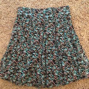 Pink/blue skirt